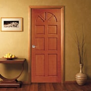 Wooden Doors Malaysia | Moulded Panel Timber Doors Manufacturer